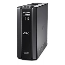 ИБП APC by Schneider Electric Back-UPS Pro 1200VA/720W 230V Line-Interactive Hot Swap User Replaceable Batteries LCD Tower  BR1200G-RS