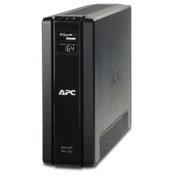 ИБП APC by Schneider Electric Back-UPS Pro 550VA/330W 230V Line-Interactive Hot Swap User Replaceable Batteries LCD Tower  BR1500GI