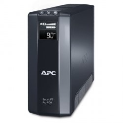 ИБП APC by Schneider Electric Back-UPS Pro 900VA/540W 230V Line-Interactive Hot Swap User Replaceable Batteries LCD Tower  BR900GI