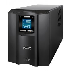 ИБП APC by Schneider Electric Smart-UPS C 1000VA/600W 230V Line-Interactive Hot Swap User Replaceable Batteries LCD Tower  SMC1000I