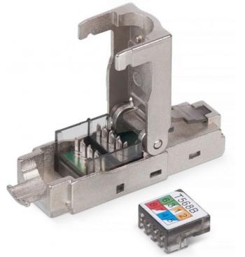коннектор 7 категории rj45 8p8c Cabeus